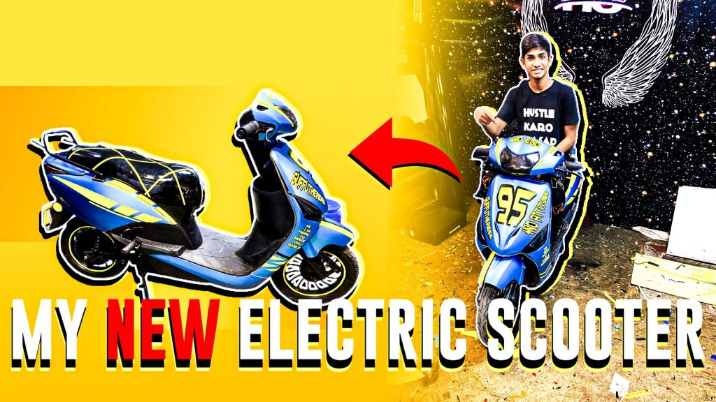 My New Electric Scooter
